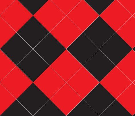 diamond pattern fabric name red and black argyle fabric beautifulcuteness spoonflower
