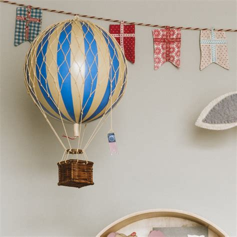 medium air balloon decoration blue