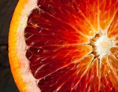 blood orangea fragrance component  pelle vanilla