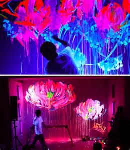 glow in the paint room graffiti lydiasmolin