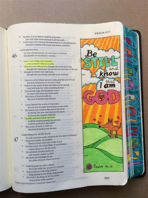 239 best images about bible journaling psalms on psalm 46 10 esv journaling bible micron and polychromos