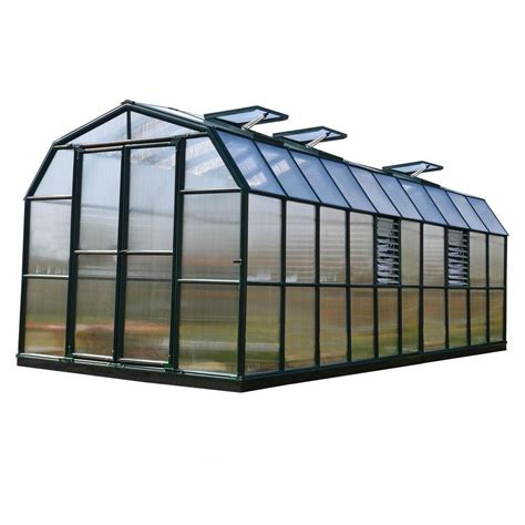 rion prestige 8 ft x 20 ft opaque greenhouse 702503