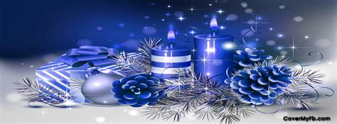 blue christmas decos facebook covers blue christmas decos fb covers blue christmas decos