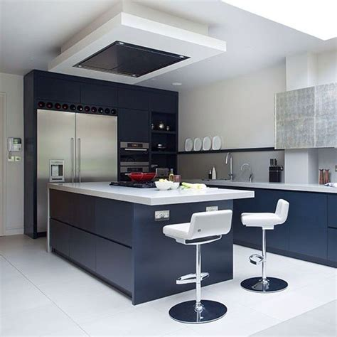 grey kitchen insel navy blue kitchen with white gloss tops kitchen