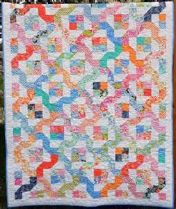louise designs quilt pattern winding nine patch