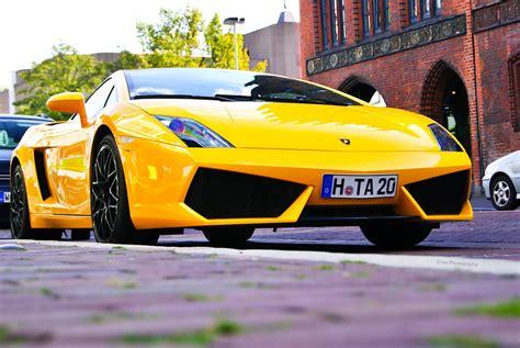 yellow and black lamborghini yellow lamborghini gallardo lp560 4 with black rims