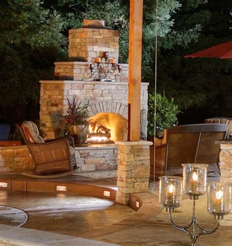 fireplaces las vegas custom pits features outdoor fireplaces