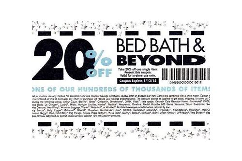 coupon bed bath & beyond 2018