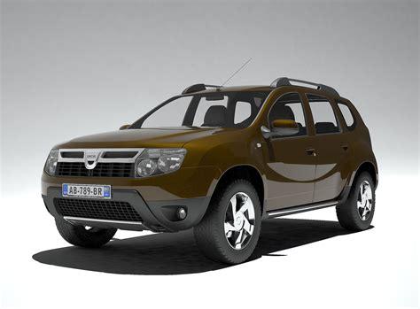 renault car models duster dacia renault 3d model max obj fbx wrl wrz