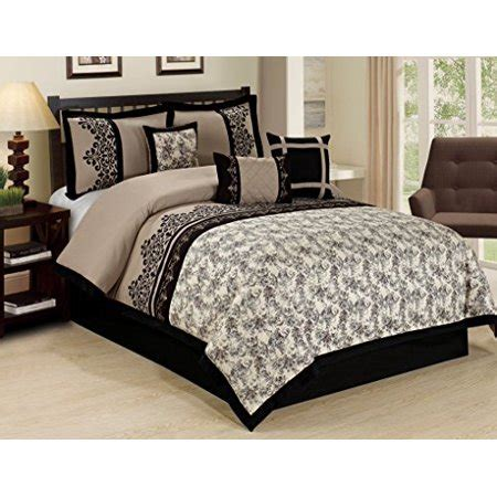 bedding sets clearance queen unique home 7 jacquard floral clearance bedding comforter set fade resistant wrinkle