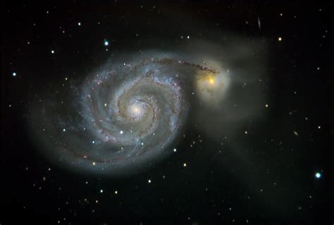 whirlpool galaxy m51 the whirlpool galaxy flc observatory