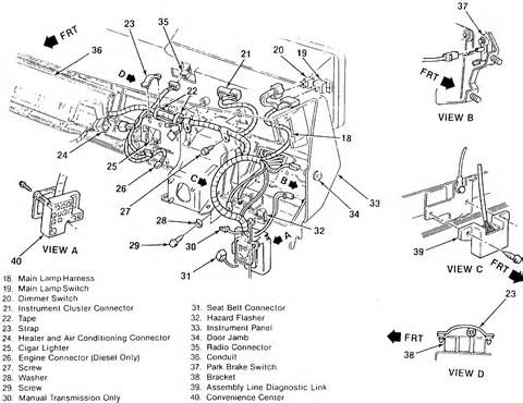 1995 chevy silverado blower motor resistor location 1995 chevy suburban blower motor location 1995 free engine image for user manual