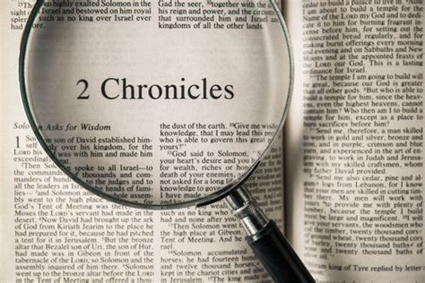 Outline 2 Chronicles 20 w a criswell sermon library standing before god