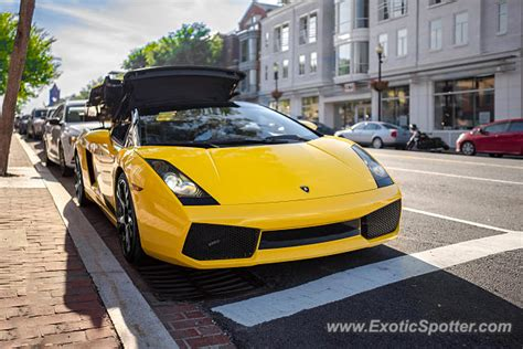 Lamborghini In Virginia Lamborghini Gallardo Spotted In Arlington Virginia On 05
