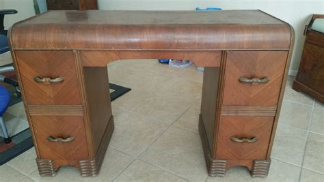 antique waterfall vanity dresser flat waterfall vanity my antique furniture collection