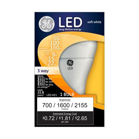 ge 3 way led light bulb ge 3 way led a21 bulb