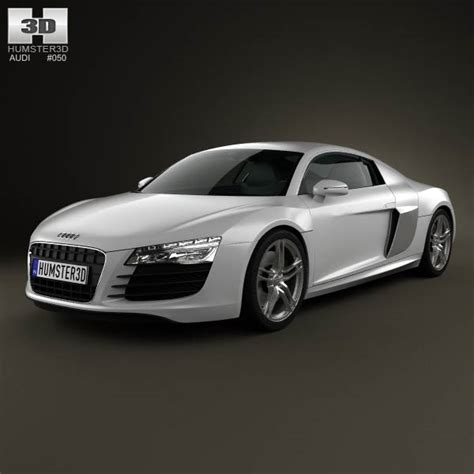Audi R8 Modell by Audi R8 Coupe 2013 3d Model Humster3d