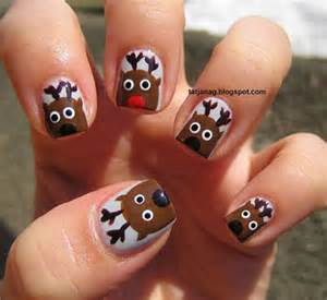 easy amp cute christmas nail art designs amp ideas for kids