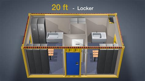 locker room design layout lay out options h2m the future of accommodation modules