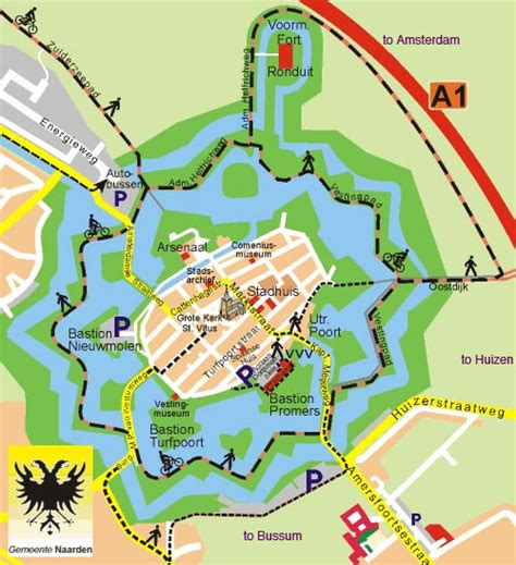 naarden netherlands map getting to naarden vesting 9 september 2005 bon journal