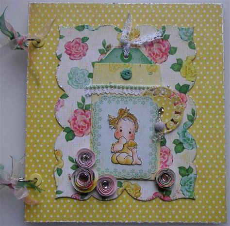 Handmade Baby Photo Album - ooak handmade so sweet baby photo memory scrapbook album