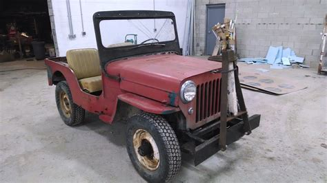 original jeep 1964 willys cj3b jeep 3 spd 4wd oklahoma jeep all original