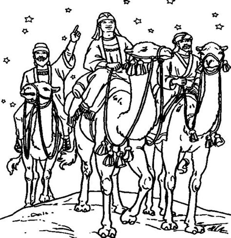 imagenes de los reyes magos para hombres dibujos de los reyes magos 161 para colorear pequeocio