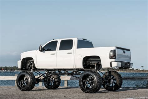 Chevrolet Wheels by Chevrolet 2500 On Specialty Forged Wheels
