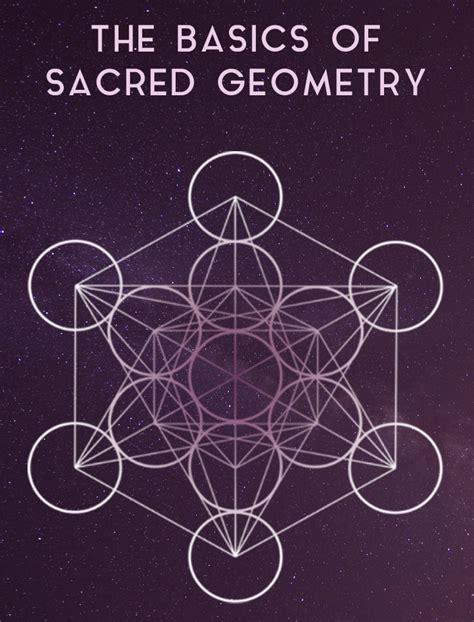 geometric pattern of the universe basics of sacred geometry mandalas symbols and sacred