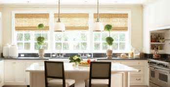 Four modern kitchen window treatment ideas