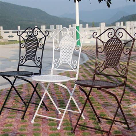 tavoli in ferro da giardino tavoli da giardino in ferro prezzi mobilia la tua casa