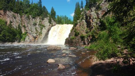 high falls garden high falls tettegouche state park mn dilettante