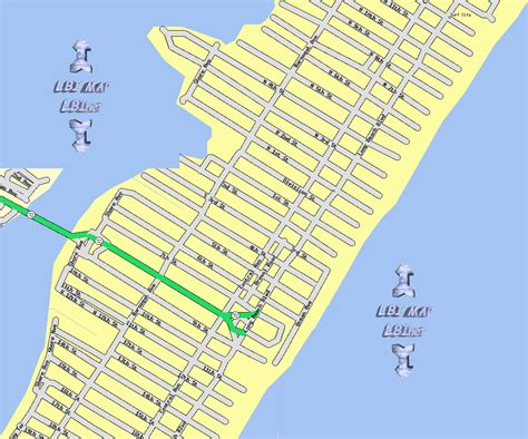lbi map lbi maps section 10 ship bottom island nj