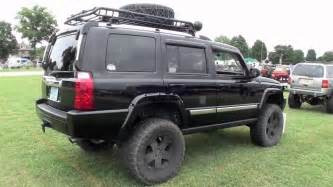 jeep commander xk on big lift and 35 inch tires