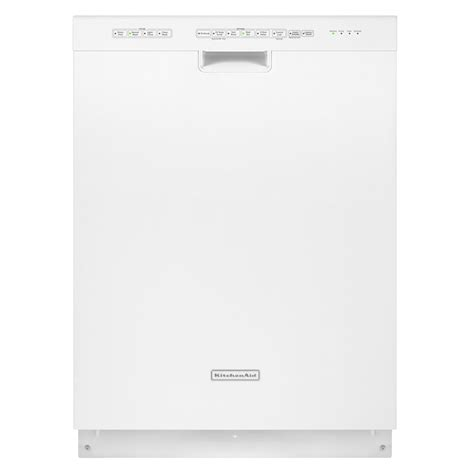 Kitchenaid Dishwasher Clicking Noise Kitchenaid Kuds30ixwh Superba 24 Quot Built In Dishwasher White