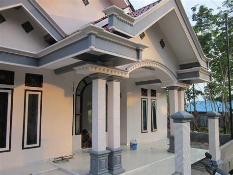 Lu Gantung Untuk Teras Rumah pilar untuk teras rumah rumah sanjaya profil beton pilar blombong tiang teras rumah desain
