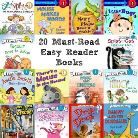 is simple books 20 must read easy reader books