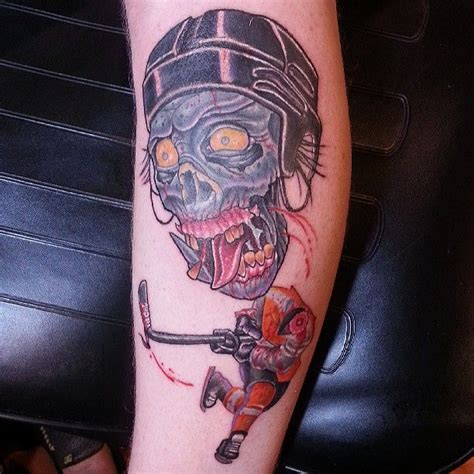 rose tattoo philadelphia hockey player philadelphia flyers www