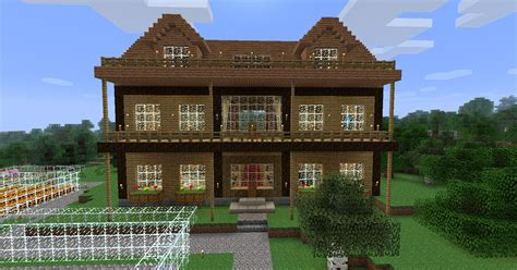 wooden house in minecraft minecraft house wood hd wallpaper of minecraft hdwallpaper2013 com