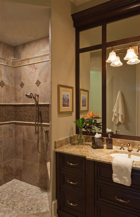 tile patterns for showers Bathroom Traditional with