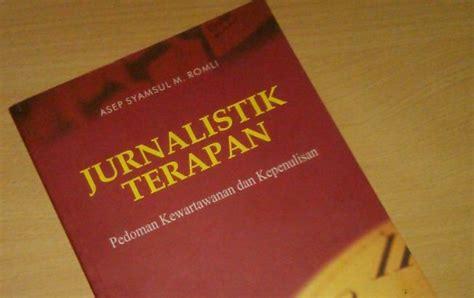 Jurnalistik Terapan jawab seputar jurnalistik dan radio