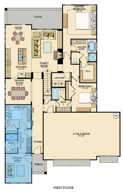 next gen floor plans next gen new home plan in covington lake east by lennar