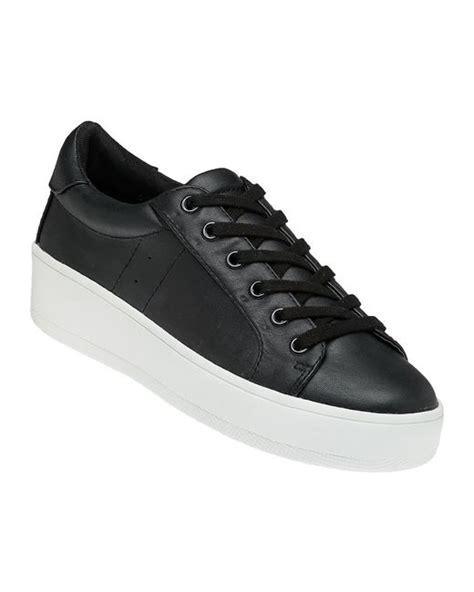 Steve Madden Bertie L by Steve Madden Bertie Black Sneaker In Black For Lyst