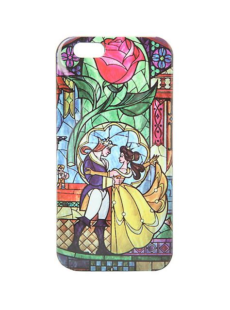Iphone Iphone 6 And The Beast disney and the beast stained glass iphone 6