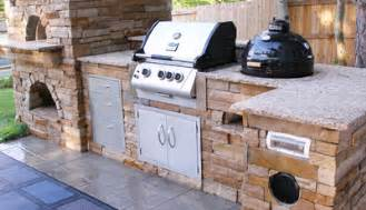 beautiful Concrete Kitchen Cabinets Designs #3: Finished-Outdoor-Kitchen-Island-Colorado.jpg