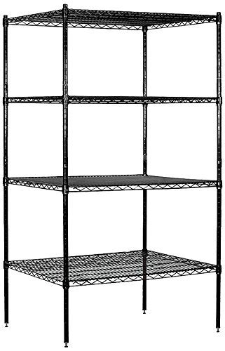 24 inch wide shelving unit salsbury industries stationary wire shelving unit 36 inch