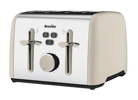 breville colour notes 4 slice toaster cream amazon co