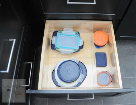 How To Organize Tupperware Drawer by 12 Stellar Ways To Organize Your Kitchen Cabinets Drawers