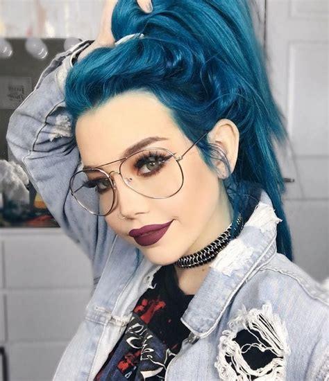 aquamarine hair color hair care aquamarine hair dye by hailiebarber
