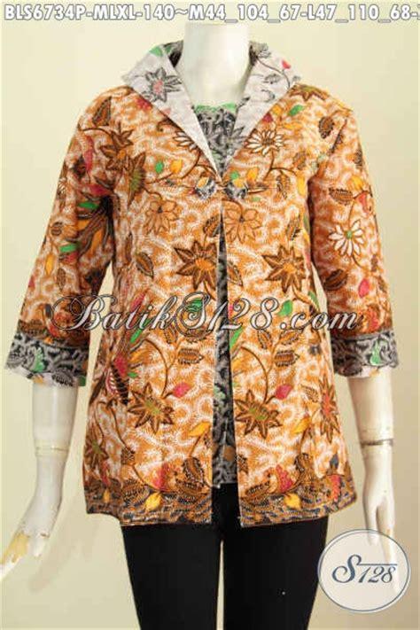 desain baju jas pusat baju batik online sedia baju batik atasan modern
